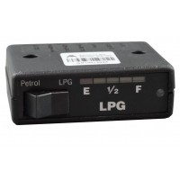 Under Dash 3 Position Change Over Switch 5 Led 0-90 Ohm LPG Tank Gauge